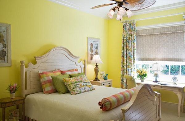 Phòng ngủ nên sơn màu gì để hợp phong thủy?