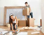 Sử dụng thùng carton để đóng đồ đạc