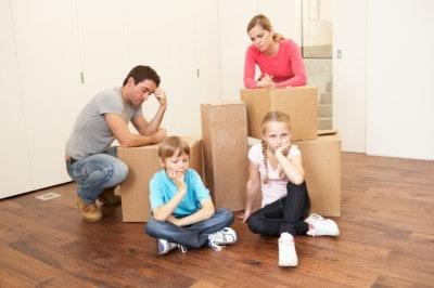 Những khó khăn khi chuyển nhà