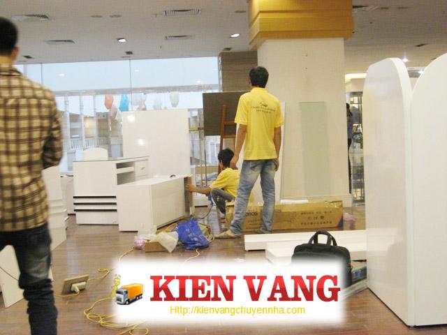 Dịch vụ chuyển nhà trọn gói tại công ty Kiến Vàng