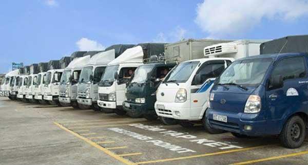 Lựa chọn xe tải có trọng lượng phù hợp
