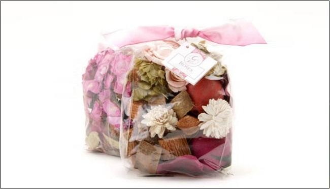Làm túi thơm handmade từ ni lông