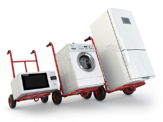 Máy giặt, tủ lạnh, điều hòa,… thường là những thiết bị cồng kềnh, cấu tạo vỏ dễ bị bóp méo