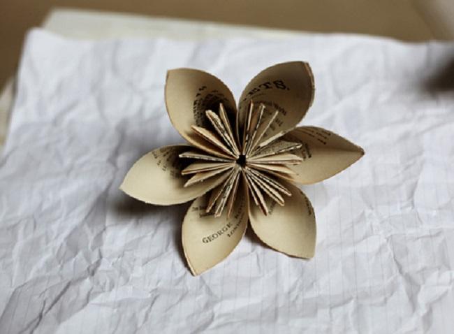 Những bông hoa handmade vô cùng xinh đẹp
