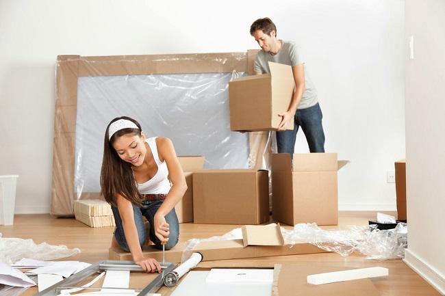 Việc chuyển nhà cần được thực hiện nhanh chóng, gọn gàng