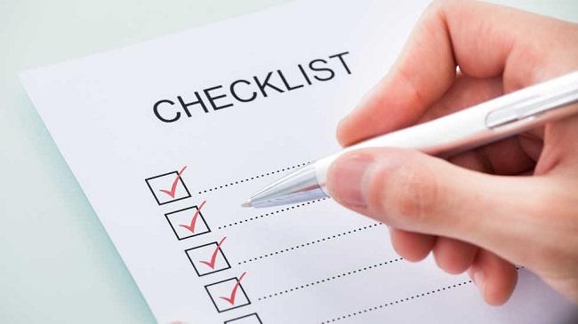 List lại danh sách các món đồ cần vận chuyển để có phương án triển khai hiệu quả nhất.