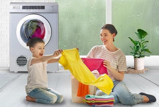 Sấy khô quần áo trong mọi thời tiết