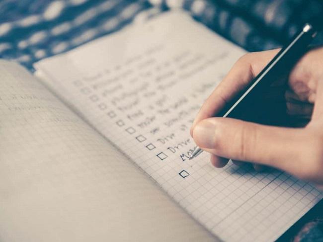 Đảm bảo hoàn thành kế hoạch hàng ngày
