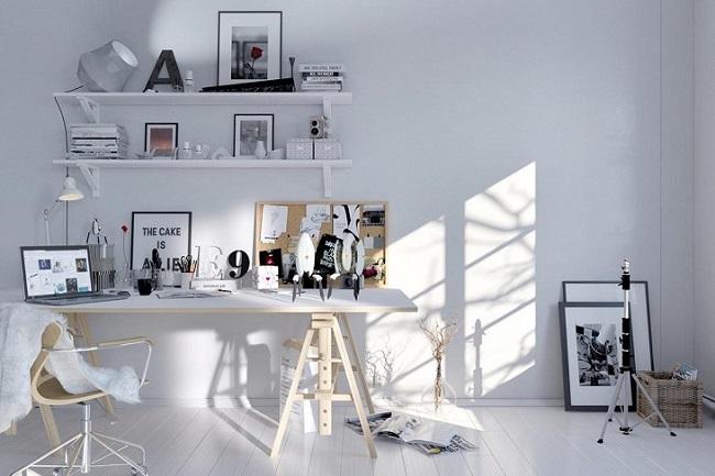 Tạo một không gian làm việc phù hợp